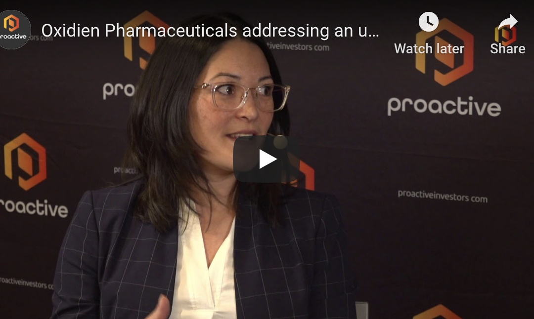 Oxidien speaks to Christine Corrado at Proactive Investors at Biotech showcase 2020