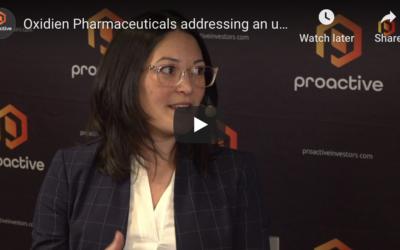 Oxidien speaks to Christine Corrado at Proactive Investors at Biotech showcase 2020
