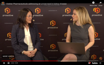 Oxidien speaks to Christine Corrado with Proactive Investors at Biotech showcase 2020